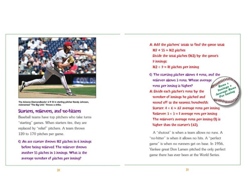 Sports Math Spread 20-21