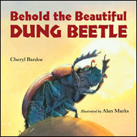 behold dung beetle