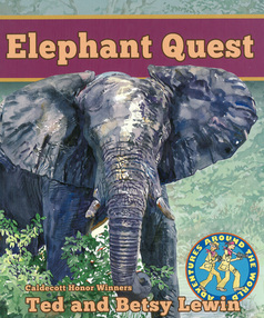 Elephant Quest, from Adventures Around the World series, Lee & Low Books, 2014 (paperback)